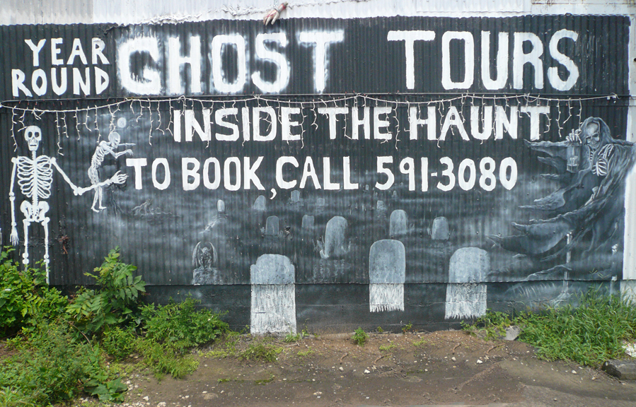 Ghost Tour Mural