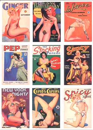 Spicy Pulp cards